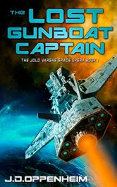 bargain ebooks The Lost Gunboat Captain Science Fiction by J.D. Oppenheim