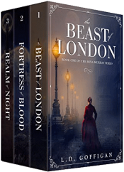 bargain ebooks The Mina Murray Series: Books 1-3 Historical Fantasy Adventure by L.D. Goffigan