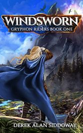 bargain ebooks Windsworn: Gryphon Riders Book One Young Adult/Teen Historical Fantasy by Derek Alan Siddoway