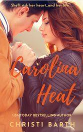 bargain ebooks Carolina Heat Romantic Suspense by Christi Barth