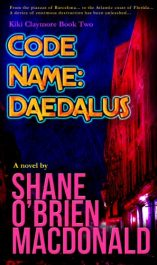 amazon bargain ebooks Code Name: Daedalus Action Adventure by Shane O'Brien MacDonald