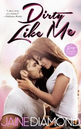 bargain ebooks Dirty Like Me Rockstar Romance by Jaine Diamond