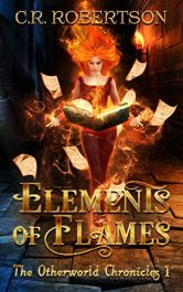 bargain ebooks Elements of Flames Horror by C.R. Robertson