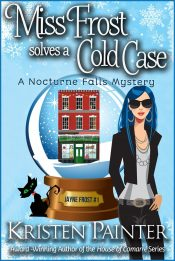 bargain ebooks Miss Frost Solves a Cold Case Cozy Paranormal Mystery by Kristen Painter