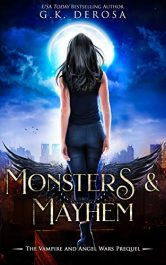 bargain ebooks Monsters & Mayhem Young Adult/Teen Urban Fantasy by G.K. DeRosa