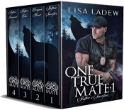 bargain ebooks One True Mate Series Bundle, Books 1-4 Paranormal Romance by Lisa Ladew