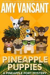 bargain ebooks Pineapple Puppies Mystery by Amy Vansant