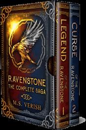 bargain ebooks Ravenstone: The Complete Saga Fantasy by M.S. Verish