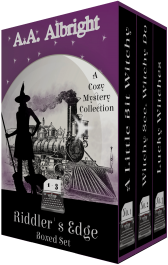 bargain ebooks Riddler's Edge Boxed Set (Riddler's Edge Cozy Mysteries Books 1-3) Cozy Mystery by A.A. Albright