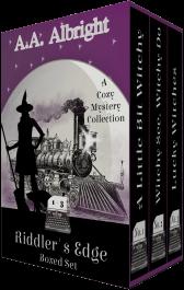 bargain ebooks Riddler's Edge Boxed Set (Riddler's Edge Cozy Mysteries Books 1-3) Cozy Mystery by A.A. Albright