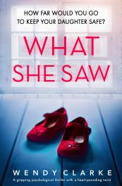 bargain ebooks What She Saw Psychological Thriller by Wendy Clarke