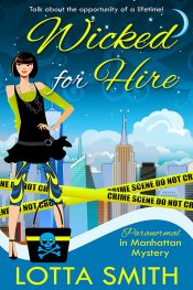 amazon bargain ebooks Wicked for Hire Mystery by Lotta Smith