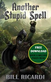 amazon bargain ebooks Another Stupid Spell Epic Fantasy Adventure by Bill Ricardi