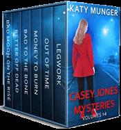 bargain ebooks Casey Jones Mysteries Vol. 1-6 Mystery by Katy Munger