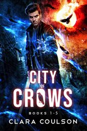 amazon bargain ebooks City of Crows Books 1-5 Psychic Suspense Thriller by Clara Coulson