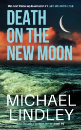 amazon bargain ebooks DEATH ON THE NEW MOON Romantic Suspense Thriller by Michael Lindley