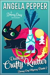 amazon bargain ebooks Death of a Crafty Knitter Cozy Mystery by Angela Pepper