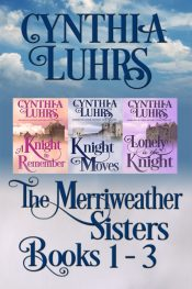 bargain ebooks Meriweather Sisters Medieval Time Travel Romance Boxed Set Books 1-3 Time Travel Historical Romance by Cynthia Luhrs