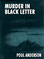 bargain ebooks Murder in Black Letter Mystery by Poul Andreson