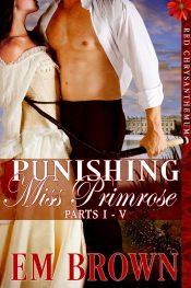 bargain ebooks Punishing Miss Primrose Erotic Historical Romance by Em Brown