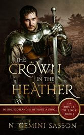 amazon bargain ebooks The Crown in the Heather Historical Fiction by N. Gemini Sasson