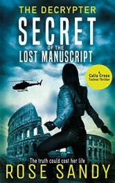 bargain ebooks The Decrypter: Secret of the Lost Manuscript Thriller by Rose Sandy