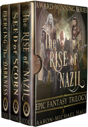 bargain ebooks The Rise of Nazil: Complete Epic Fantasy Trilogy Fantasy by Aaron-Michael Hall