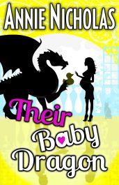 bargain ebooks Their Baby Dragon Paranormal Romantic Comedy by Annie Nicholas