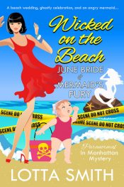 bargain ebooks Wicked on the Beach Chicklit Mystery by Lotta Smith