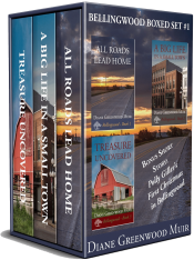 bargain ebooks Bellingwood Boxed Set: Books 1-3 Cozy Mystery by Diane Greenwood Muir