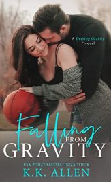bargain ebooks Falling from Gravity Sports Romance by K.K. Allen