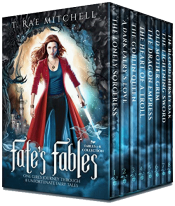 bargain ebooks Fate's Fables: One Girl's Journey Through 8 Unfortunate Fairy Tales Young Adult/Teen Fantasy by T. Rae Mitchell