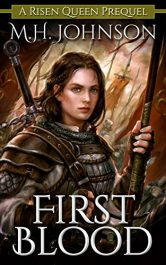 bargain ebooks First Blood Dark Fantasy Horror by M.H. Johnson