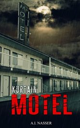 bargain ebooks Kurtain Motel Horror by A.I. Nasser