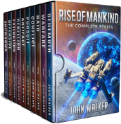 bargain ebooks Rise of Mankind: The Complete Series Science Fiction by John Walker