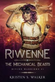 bargain ebooks Riwenne & The Mechanical Beasts Steampunk Science Fiction by Kristen S. Walker