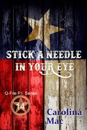 bargain ebooks Stick a Needle in Your Eye Thriller by Carolina Mac