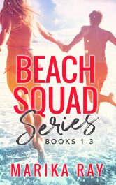 bargain ebooks The Beach Squad Boxed Set Romantic Comedy by Marika Ray
