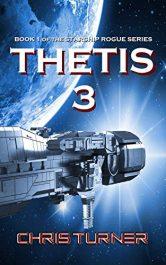 bargain ebooks Thetis 3 SciFi Adventure by Chris Turner