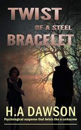 bargain ebooks Twist of a Steel Bracelet Mystery Thriller by H.A Dawson