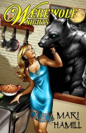 bargain ebooks Werewolf Nights Fantasy/Horror/Romance by Mari Hamill