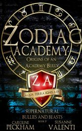 bargain ebooks Zodiac Academy: Origins of an Academy Bully Young Adult/Teen Fantasy by Caroline Peckham & Susanne Valenti