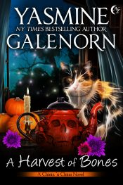 bargain ebooks A Harvest of Bones Cozy Paranormal Mystery by Yasmine Galenorn