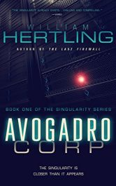 amazon bargain ebooks Avogadro Corp Technothriller by William Hertling