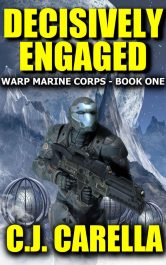 bargain ebooks Decisively Engaged Science Fiction by C.J. Carella