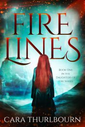 bargain ebooks Fire Lines Young Adult Fantasy by Cara Thurlbourn