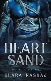 bargain ebooks Heart of Sand Erotic Romance by Klara Raškaj