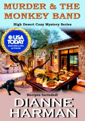 bargain ebooks Murder and the Monkey Band Cozy Mystery by Dianne Harman