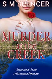 bargain ebooks Murder at the Creek Contemporary Romance Mystery by S M Spencer