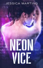 bargain ebooks Neon Vice Cyberpunk Science Fiction by Jessica Marting